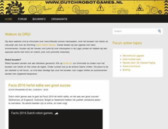 dutchrobotgames.nl screenshot