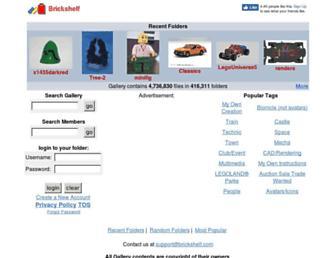 brickshelf.com screenshot