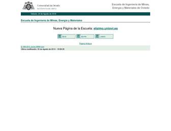 www6.uniovi.es screenshot