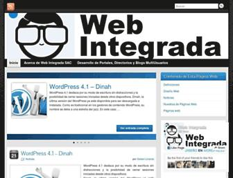 webintegrada.com screenshot