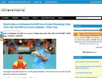 niharsworld.com screenshot