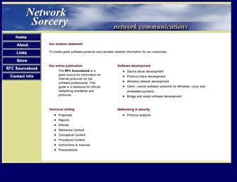 networksorcery.com screenshot