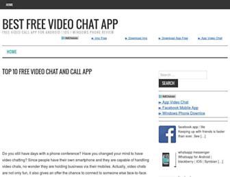 bestvideochatapp.net screenshot