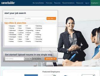 Thumbshot of Careerbuilder.co.in