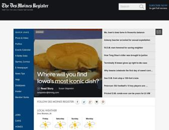 Thumbshot of Desmoinesregister.com