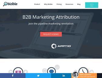 Thumbshot of Bizible.com