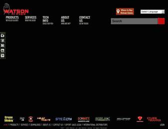 watsongloves.com screenshot