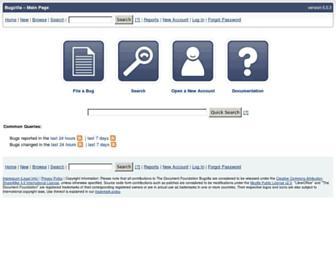 bugs.documentfoundation.org screenshot