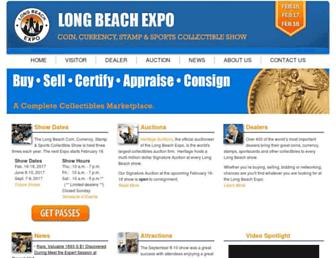 longbeachexpo.com screenshot