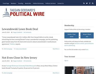 Thumbshot of Politicalwire.com