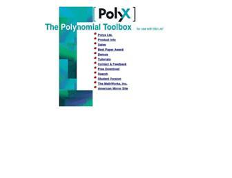 polyx.com screenshot