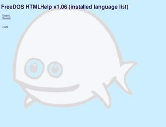 help.fdos.org screenshot