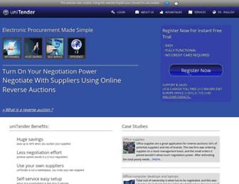 Thumbshot of Unitender.com