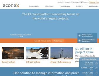 Thumbshot of Aconex.com