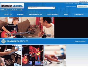 harmonycentral.com screenshot