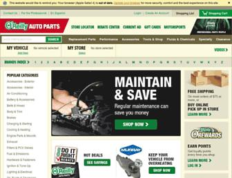 oreillyauto.com screenshot