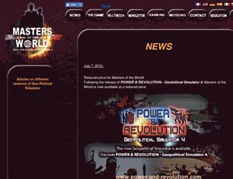 masters-of-the-world.com screenshot