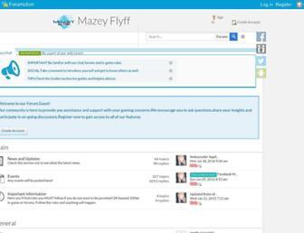 mazeyflyff.forumotion.net screenshot