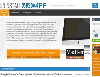 uninstallmacapp.com screenshot