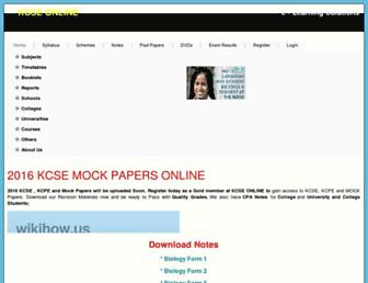 Thumbshot of Kcse-online.info