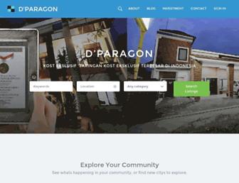 dparagon.com screenshot