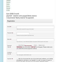 megatyperegistration.blogspot.com screenshot