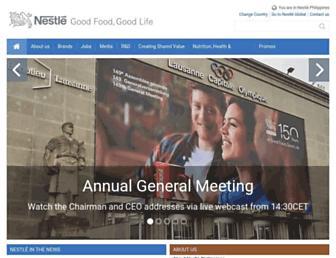 nestle.com.ph screenshot
