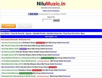 nilumusic.in screenshot