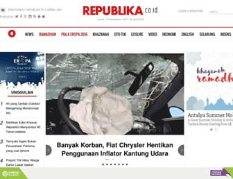 republika.co.id screenshot