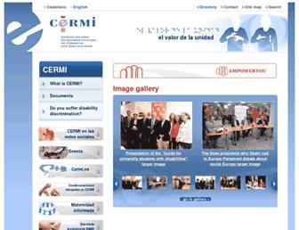 cermi.es screenshot