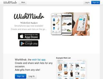 Thumbshot of Wishmindr.com