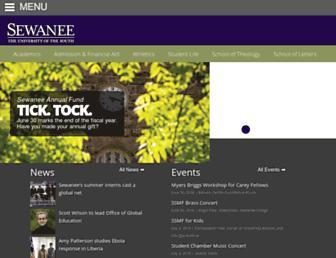 Thumbshot of Sewanee.edu
