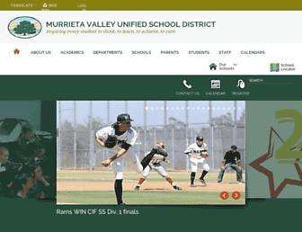 murrieta.k12.ca.us screenshot