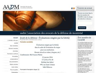 aadm.ca screenshot