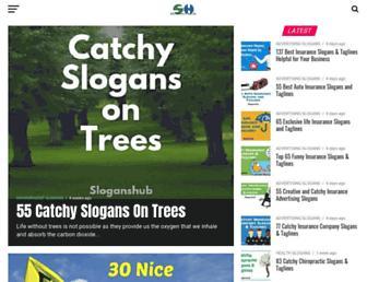 sloganshub.org screenshot