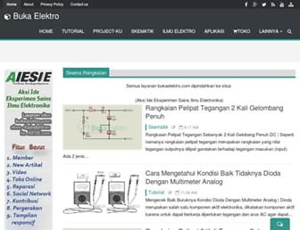 bukaelektro.com screenshot
