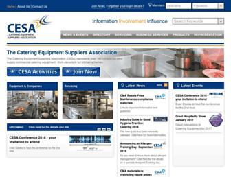 cesa.org.uk screenshot