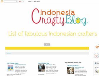 indonesiacraftyblog.blogspot.com screenshot