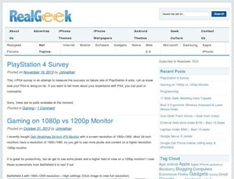 realgeek.com screenshot