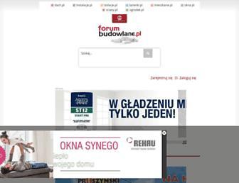 Thumbshot of Forumbudowlane.pl