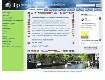 ifip.org screenshot