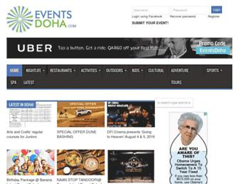 Thumbshot of Eventsdoha.com