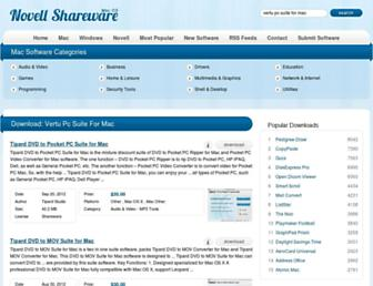 vertu-pc-suite-for-mac.mac.novellshareware.com screenshot