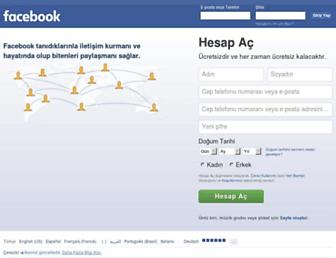 tr-tr.facebook.com screenshot