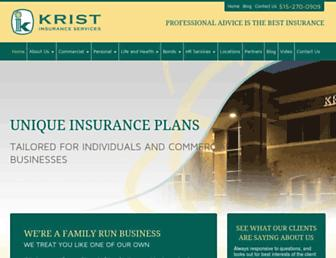 kristinsurance.com screenshot