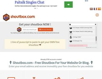 Fullscreen thumbnail of freeshoutbox.net