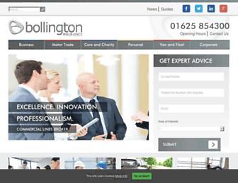 bollington.com screenshot