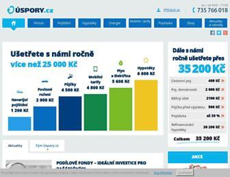 Thumbshot of Uspory.cz