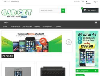 gadcet.com screenshot