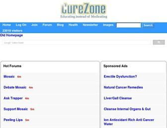 Thumbshot of Curezone.com